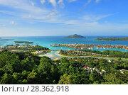 Купить «Seychelles Islands from above. Mahe», фото № 28362918, снято 6 июля 2011 г. (c) Знаменский Олег / Фотобанк Лори