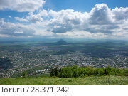 Panoramic view of Pyatigorsk (2016 год). Стоковое фото, фотограф Юлия Белоусова / Фотобанк Лори