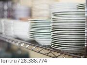 Купить «dish for table appointment in the tableware store», фото № 28388774, снято 29 ноября 2017 г. (c) Яков Филимонов / Фотобанк Лори