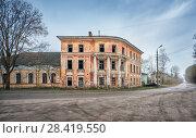Купить «Городская усадьба building of the city manor», фото № 28419550, снято 1 мая 2018 г. (c) Baturina Yuliya / Фотобанк Лори