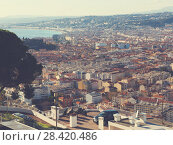 Купить «Panoramic view of Nica in France», фото № 28420486, снято 3 декабря 2017 г. (c) Яков Филимонов / Фотобанк Лори