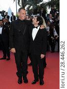 Купить «Marcello Fonte, Matteo Garrone during 'Closing Ceremony' red carpet, 71st Cannes Film Festival, Cannes, 19 may 2018.», фото № 28446262, снято 24 января 2019 г. (c) age Fotostock / Фотобанк Лори