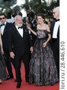 Terry Gilliam, Joana Ribeiro during 'Closing Ceremony' red carpet, 71st Cannes Film Festival, Cannes, 19 may 2018. Редакционное фото, фотограф AGF/Maria Laura Antonelli / age Fotostock / Фотобанк Лори