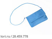 Купить «colorful fashionable clutch bag isolated on white background», фото № 28459778, снято 22 марта 2017 г. (c) Tetiana Chugunova / Фотобанк Лори