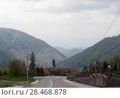 Купить «Чимбулак - горнолыжный курорт в Казахстане», фото № 28468878, снято 19 мая 2018 г. (c) Максим Гулячик / Фотобанк Лори