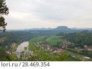 Купить «Национальный парк Саксонская Швейцария. Германия.», фото № 28469354, снято 3 мая 2018 г. (c) Воробьева Анна / Фотобанк Лори