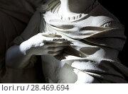 Купить «School of sculptors, restoration of sculptures, workshop repair depot», фото № 28469694, снято 2 марта 2014 г. (c) Сурикова Ирина / Фотобанк Лори