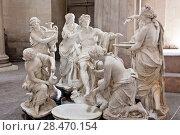 Купить «School of sculptors, restoration of sculptures, workshop repair depot», фото № 28470154, снято 2 марта 2014 г. (c) Сурикова Ирина / Фотобанк Лори