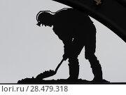 Купить «Coal miner statue in New Waterford, Cape Breton Island, Nova Scotia, Canada», фото № 28479318, снято 13 июня 2016 г. (c) Ingram Publishing / Фотобанк Лори