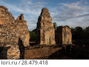 Купить «Elevated view of Pre Rup temple, Krong Siem Reap, Siem Reap, Cambodia», фото № 28479418, снято 19 декабря 2016 г. (c) Ingram Publishing / Фотобанк Лори