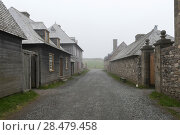 Купить «Houses by main street, Fortress of Louisbourg, Louisbourg, Cape Breton Island, Nova Scotia, Canada», фото № 28479458, снято 13 июня 2016 г. (c) Ingram Publishing / Фотобанк Лори