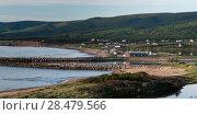 Купить «Scenic view of Margaree Harbour, Cabot Trail, Cape Breton Island, Nova Scotia, Canada», фото № 28479566, снято 11 июня 2016 г. (c) Ingram Publishing / Фотобанк Лори