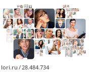 Купить «Collection of different people portraits», фото № 28484734, снято 20 ноября 2019 г. (c) Ingram Publishing / Фотобанк Лори