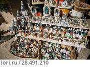 Купить «Souvenirs Trulli Italy», фото № 28491210, снято 16 мая 2018 г. (c) Aleksejs Bergmanis / Фотобанк Лори