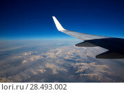 Купить «Aircraft flying over snowed mountains of Pyrenees between France and Spain», фото № 28493002, снято 4 апреля 2020 г. (c) Ingram Publishing / Фотобанк Лори