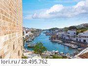 Купить «Ciutadella Menorca marina Port view Ciudadela at Balearic islands», фото № 28495762, снято 25 мая 2013 г. (c) Ingram Publishing / Фотобанк Лори