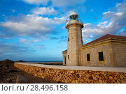 Купить «Menorca Punta Nati Faro lighthouse in Ciutadella Balearic Islands of Spain», фото № 28496158, снято 24 мая 2013 г. (c) Ingram Publishing / Фотобанк Лори