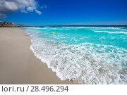 Купить «Menorca Platja Sant Tomas in Es Mitjorn Gran at Balearic islands of Spain», фото № 28496294, снято 30 мая 2013 г. (c) Ingram Publishing / Фотобанк Лори