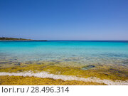 Купить «Menorca Son Saura beach in Ciutadella turquoise color at Balearic islands», фото № 28496314, снято 25 мая 2013 г. (c) Ingram Publishing / Фотобанк Лори