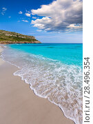 Купить «Alaior Cala Son Bou in Menorca turquoise beach at Balearic islands», фото № 28496354, снято 26 мая 2013 г. (c) Ingram Publishing / Фотобанк Лори