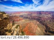 Купить «Arizona Grand Canyon National Park Yavapai Point USA», фото № 28496890, снято 13 апреля 2013 г. (c) Ingram Publishing / Фотобанк Лори