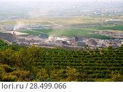Купить «Arid crushing quarry in Castellon province at Valencian Community of Spain», фото № 28499066, снято 14 декабря 2018 г. (c) Ingram Publishing / Фотобанк Лори