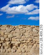 Купить «Tabarca Island battlement fort masonry wall detail in Spain», фото № 28499210, снято 4 октября 2008 г. (c) Ingram Publishing / Фотобанк Лори