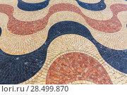 Купить «Alicante la Explanada de Espana mosaic of marble tiles flooring in Spain», фото № 28499870, снято 21 января 2014 г. (c) Ingram Publishing / Фотобанк Лори