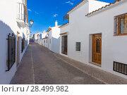 Купить «Altea old village in white whitewashed typical Mediterranean at Alicante Spain», фото № 28499982, снято 23 января 2014 г. (c) Ingram Publishing / Фотобанк Лори