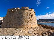 Купить «Moraira Castle in teulada beach at Mediterranean Alicante of Spain», фото № 28500162, снято 23 января 2014 г. (c) Ingram Publishing / Фотобанк Лори