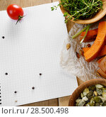 Купить «Fresh Organic Vegetable Frame on a Wooden Background with Space For Your Text», фото № 28500498, снято 30 ноября 2013 г. (c) Ingram Publishing / Фотобанк Лори
