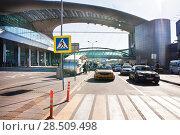 Аэропорт Шереметьево, терминал D.Москва (2018 год). Редакционное фото, фотограф Victoria Demidova / Фотобанк Лори