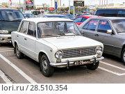 Купить «Lada 2101», фото № 28510354, снято 29 сентября 2012 г. (c) Art Konovalov / Фотобанк Лори