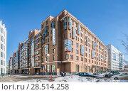 Купить «Отель «Аквамарин»», эксклюзивное фото № 28514258, снято 24 марта 2018 г. (c) Виктор Тараканов / Фотобанк Лори
