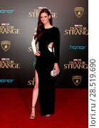 Купить «Premiere Of Disney And Marvel Studios' 'Doctor Strange' Featuring: Lydia Hearst Where: HOLLYWOOD, California, United States When: 20 Oct 2016 Credit: FayesVision/WENN.com», фото № 28519690, снято 20 октября 2016 г. (c) age Fotostock / Фотобанк Лори