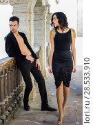 Купить «Portrait of beautiful couple, models of fashion, wearing spanish clothes», фото № 28533910, снято 15 декабря 2013 г. (c) Ingram Publishing / Фотобанк Лори