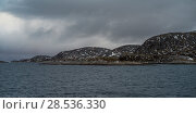 Scenic view of coastline, Bodo, Nordland, Norway. Стоковое фото, фотограф Keith Levit / Ingram Publishing / Фотобанк Лори