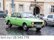 Skoda 105 (2014 год). Редакционное фото, фотограф Art Konovalov / Фотобанк Лори