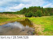 Купить «Солнечный свет на речке Серёжа», фото № 28544526, снято 8 сентября 2015 г. (c) Игорь Камаев / Фотобанк Лори