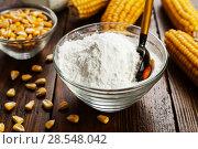 Купить «Starch and corn cob», фото № 28548042, снято 12 марта 2018 г. (c) Надежда Мишкова / Фотобанк Лори