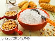 Купить «Starch and corn cob», фото № 28548046, снято 17 марта 2018 г. (c) Надежда Мишкова / Фотобанк Лори