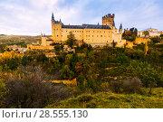 Купить «Alcazar of Segovia», фото № 28555130, снято 16 ноября 2014 г. (c) Яков Филимонов / Фотобанк Лори