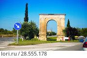 Купить «Arc de Bera in Tarragona», фото № 28555178, снято 16 мая 2016 г. (c) Яков Филимонов / Фотобанк Лори