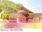 Купить «Notre Dame de Senanque, Provence», фото № 28555750, снято 18 июля 2017 г. (c) Сергей Новиков / Фотобанк Лори