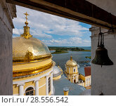 Купить «The Nilo-Stolobensky Monastery, Tver Region, Russia», фото № 28556542, снято 1 августа 2016 г. (c) photoff / Фотобанк Лори