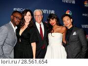 Купить «NBC And Vanity Fair Toast the 2016-2017 TV Season at NeueHouse Featuring: William Jackson Harper, D'arcy Carden, Ted Danson, Jameela Jamil, Manny Jacinto...», фото № 28561654, снято 3 ноября 2016 г. (c) age Fotostock / Фотобанк Лори