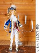 Купить «Король Луи второй. Авторская кукла», эксклюзивное фото № 28577486, снято 11 июня 2018 г. (c) Александр Щепин / Фотобанк Лори