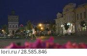 Купить «construction of water tower build in 1864 in small provincial town Murom,», видеоролик № 28585846, снято 23 августа 2016 г. (c) Яков Филимонов / Фотобанк Лори