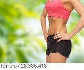 Купить «close up of female torso and abdomen», фото № 28586418, снято 12 января 2013 г. (c) Syda Productions / Фотобанк Лори