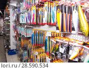Купить «In fishing shop in Barcelona», фото № 28590534, снято 16 января 2018 г. (c) Яков Филимонов / Фотобанк Лори